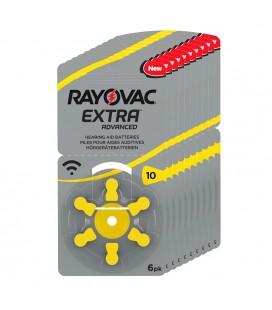 Pilas Rayovac Extra 10 - Pack 10