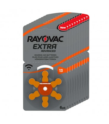 Pilas Rayovac Extra 13 - Pack 10