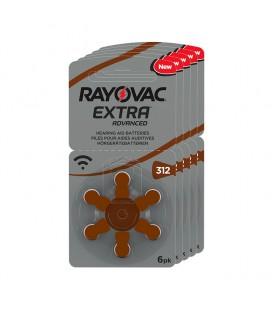 Pilas Rayovac Extra 312 - Pack 5