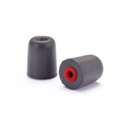 Ajuste punta de espuma - Rojo (pareja)