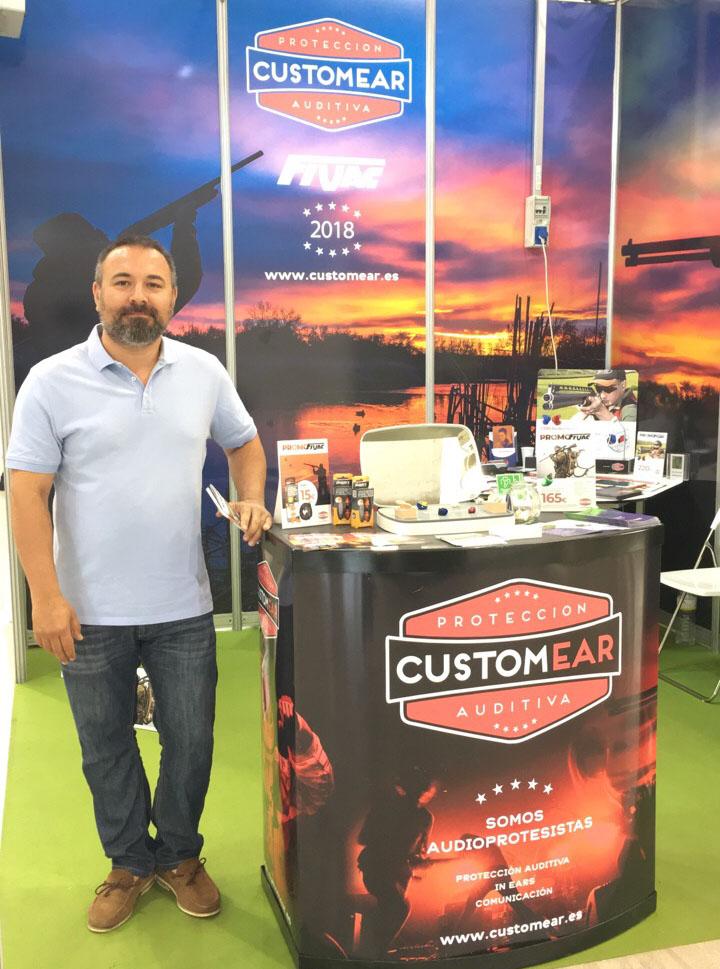 Teo Romero, gerente de CustomEar