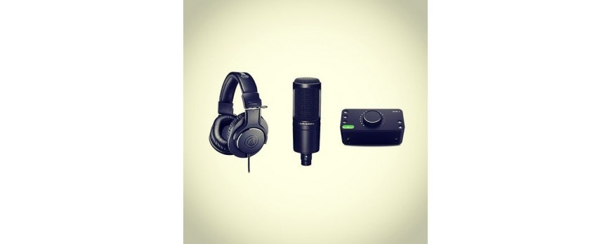 Pack para Podcast / Home Studio / Youtubers